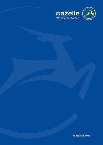Katalog 2014 - Gazelle