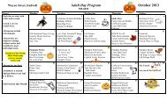 Adult Day Program October 2013 - Broome County, NY