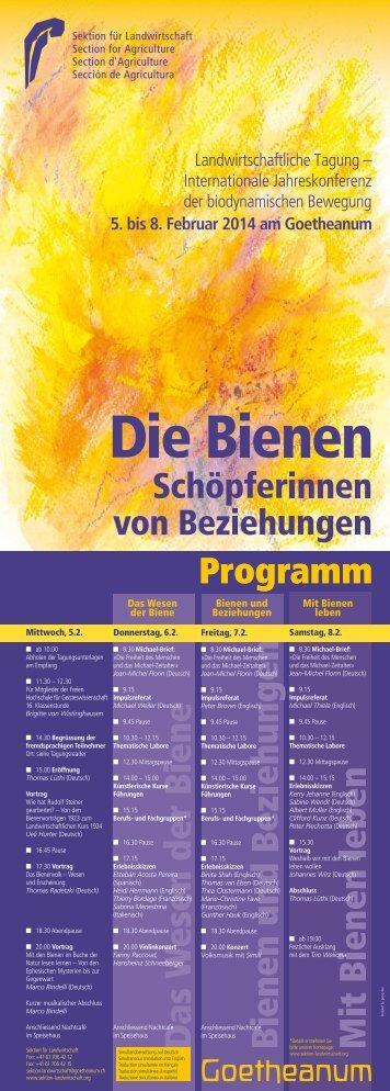 The Bees, Creators of Relationships - Goetheanum