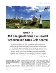 IGEHO-Round Table-Gespräch zur Energie-Effizienz