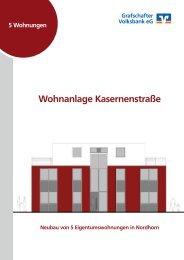 Wohnanlage Kasernenstraße - Grafschafter Volksbank eG