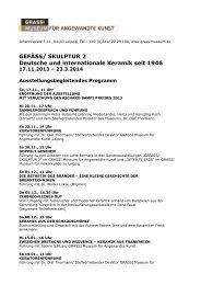 Ausstellungsbegleitende Veranstaltungen (pdf)