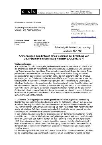 18/1712 - Grünland und Futterbau/Ökologischer Landbau - Christian ...