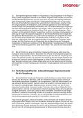 Kurzexpertise zur EEG -Reform PROGNOS - Greenpeace - Page 7