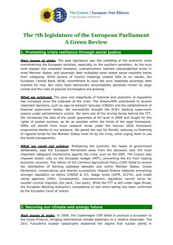Download document - The Greens | European Free Alliance