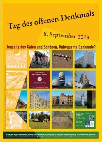 zum Tag des offenen Denkmals - Hansestadt Greifswald