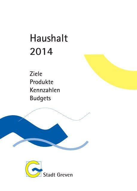 Haushalt für das Jahr 2014 - Stadt Greven