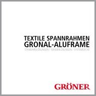 GRONAL-ALUFRAME - Karl Gröner GmbH