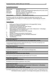 PLUS-Protokoll 15.01.2014 - Groß-Gerau