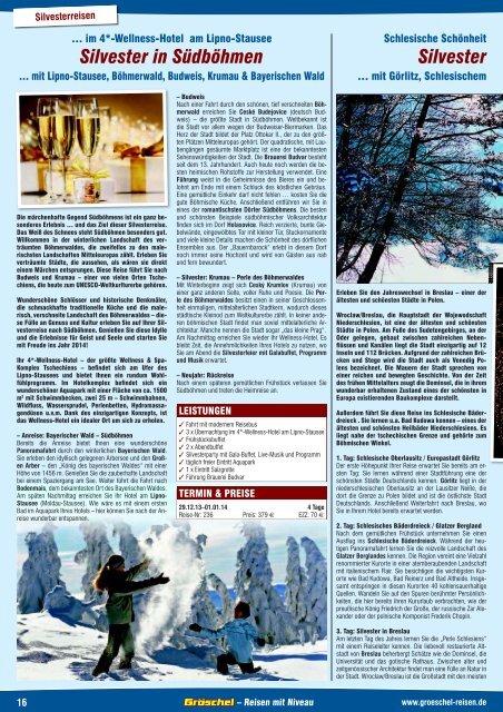 Silvester in Südböhmen Silvester