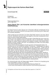 09.5190.03 - Grosser Rat - Kanton Basel-Stadt