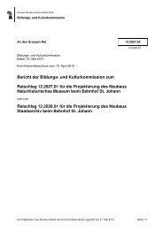 12.2027.02, 12.2028.02, BKK Staatsarchiv, Naturhist ... - Grosser Rat