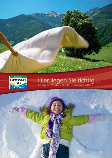 Hier liegen Sie richtig ... - Download brochures from Austria