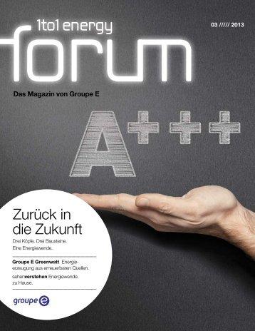 Nr. 3/2013 (pdf) - Groupe E