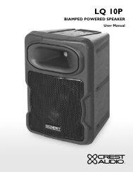 LQ 10P - Crest Audio