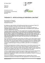 Antrag 193, Volksinitiative «Uster West - Grüne Kanton Zürich