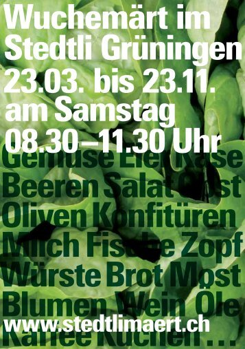 Flyer Wochenmarkt [PDF, 151 KB]