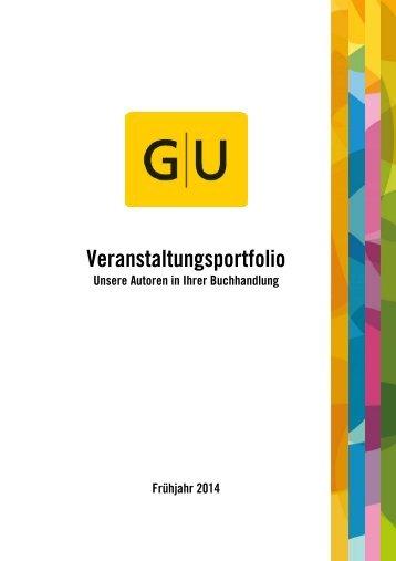 Autoren-Veranstaltungsportfolio des GRÄFE UND UNZER VERLAGS