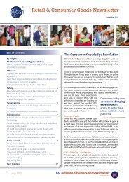 Retail & Consumer Goods Newsletter - GS1