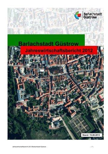 Jahreswirtschaftsbericht 2012[pdf606KB] - Barlachstadt Güstrow