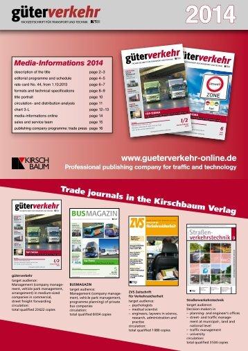 2014 - Güterverkehr - online