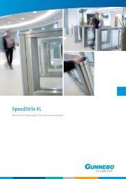 Technische Daten SpeedStile FL - Gunnebo