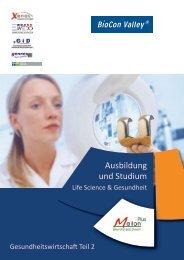 Ausbildung und Studium Life Science & Gesundheit - Projektbüro ...