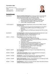 Ausführlicher - HAFL - Berner Fachhochschule