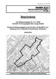 Begründung zum Bebauungsplan (390 KB) - Hagen