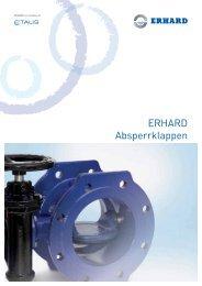 ERHARD Absperrklappen - Hagenbucher
