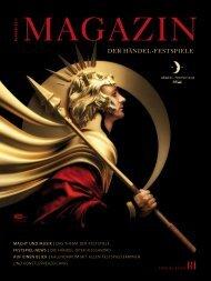 Magazin der Händel-Festspiele 2013 - Händel-Festspiele Halle