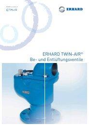ERHARD TWIN-AIR® Be- und Entlüftungsventile - Hagenbucher