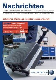 HK Nachrichten 01/2014 - Hahn +Kolb Werkzeuge GmbH