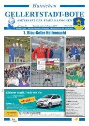 Gellertstadt-Bote Nr. 02 vom 01. Februar 2014 - Hainichen