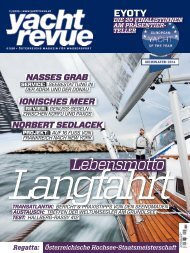a 7 page test report of the Hallberg-Rassy 412 in YachtRevue ...