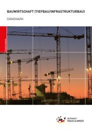 bauwirtschaft (tiefbau/infrastrukturbau) - Deutsch-Dänische ...