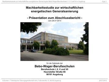 Bebo Wager Berufsschule