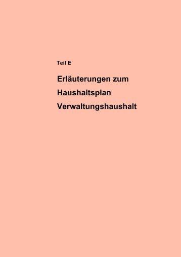 Teil E - Stadt Augsburg
