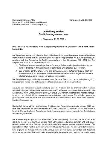 2013-09-06-Mitteilung STAPLA SLL-SL30x - Hamburg-Mitte ...