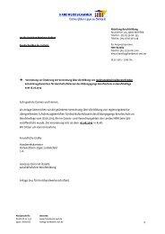 Regierungsbezirksübergreifende Schulbezirke 2013