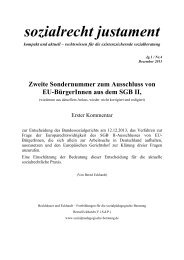 Bernd Eckhardt/sozialrecht justament 4/2013 zum Vorlagebeschluss ...