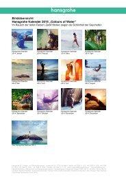 Bilder_zum_Hansgrohe_Kalender2014_Colours of Water