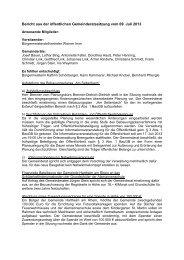 010 Beschlüsse vom 09.07.2013 - Gemeinde Hartheim