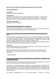 008 Beschlüsse vom 07.05.2013 - Gemeinde Hartheim