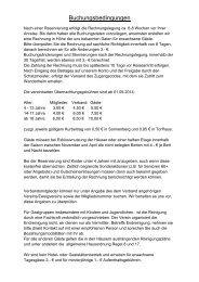 Buchungsbedingungen - Harzklub Zweigverein Hannover e. V.