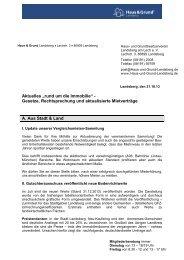 Rundschreiben Oktober 2013 (PDF) - Haus & Grund Landsberg