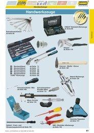 S. 61 - 149 Handwerkzeuge - Hazet