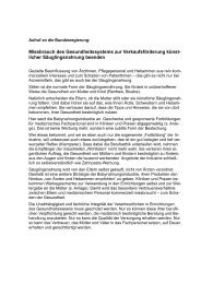 Aufruf an die Bundesregierung - Landesverband der Hebammen NRW