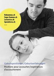 Geburtspositionen / Geburtserfahrungen Positions pour accoucher ...