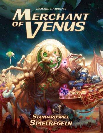 Merchant of Venus Standard Spielregel - Heidelberger Spieleverlag